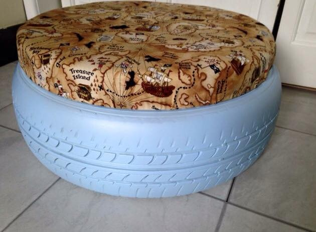 Becci's tyre seating