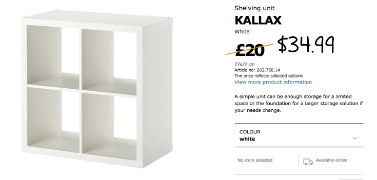 WHERE YOU CAN BUY THE IKEA KALLAX FOR THIS IKEA KALLAX HACK / GRILLO DESIGNS WWW.GRILLO-DESIGNS.COM