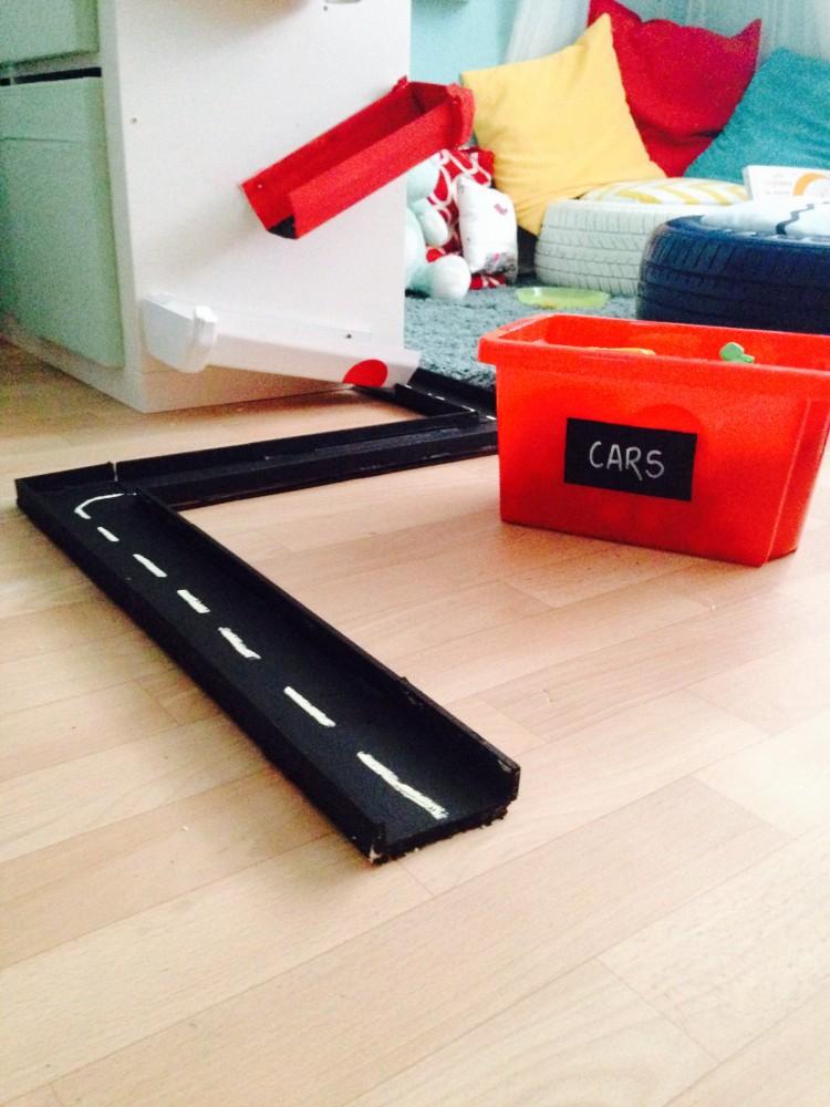 car track