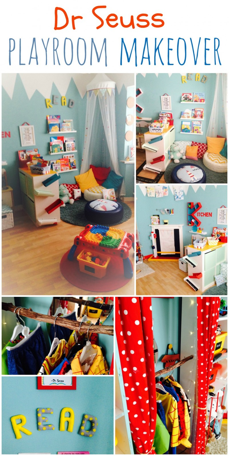 Dr Seuss Playroom Makeover