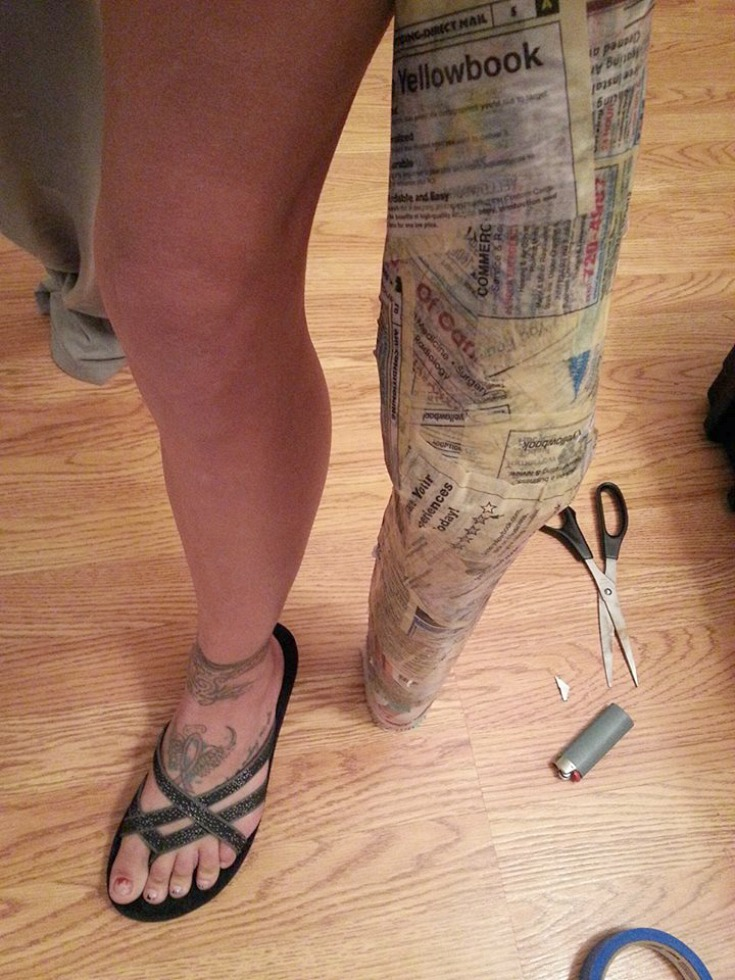 How- To- Make- Wicked- Witch- Legs