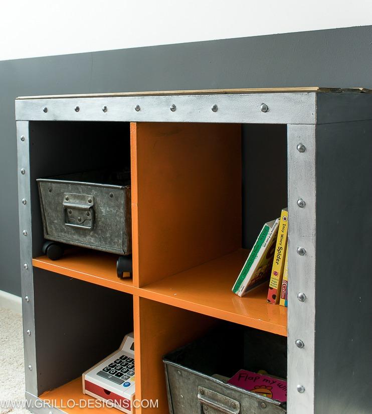 DIY RUSTIC LOOKING IKEA KALLAZ HACK/ grillo designs www.grillo-designs.com