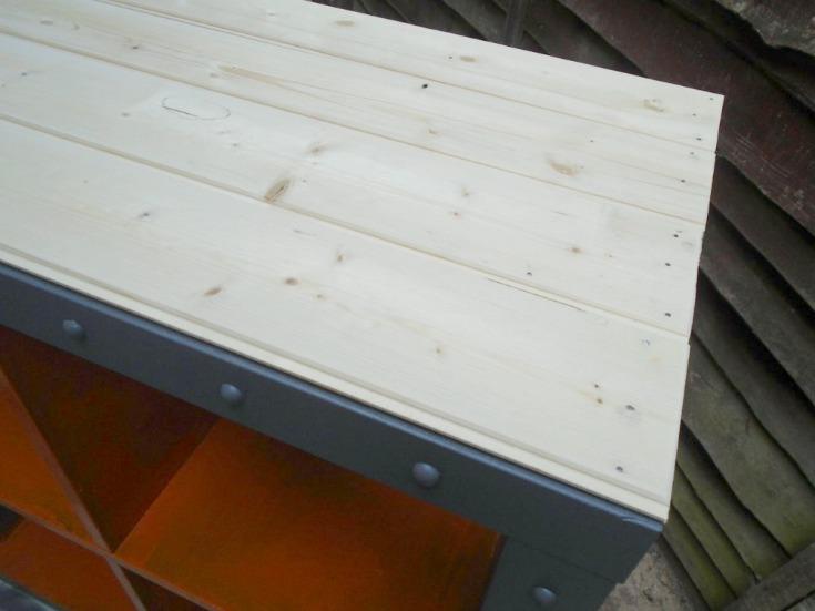 WOODEN LOOKING IKEA KALLAX HACK FOR BOYS BEDROOM/ grillo designs www.grillo-designs.com