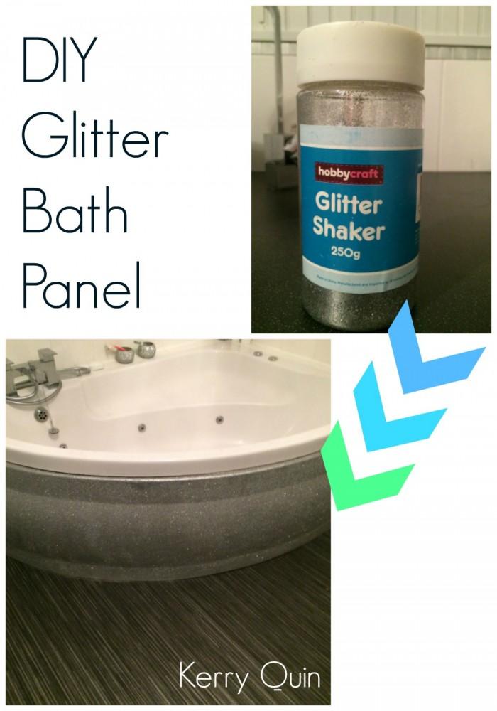 Glitter Bath Panel