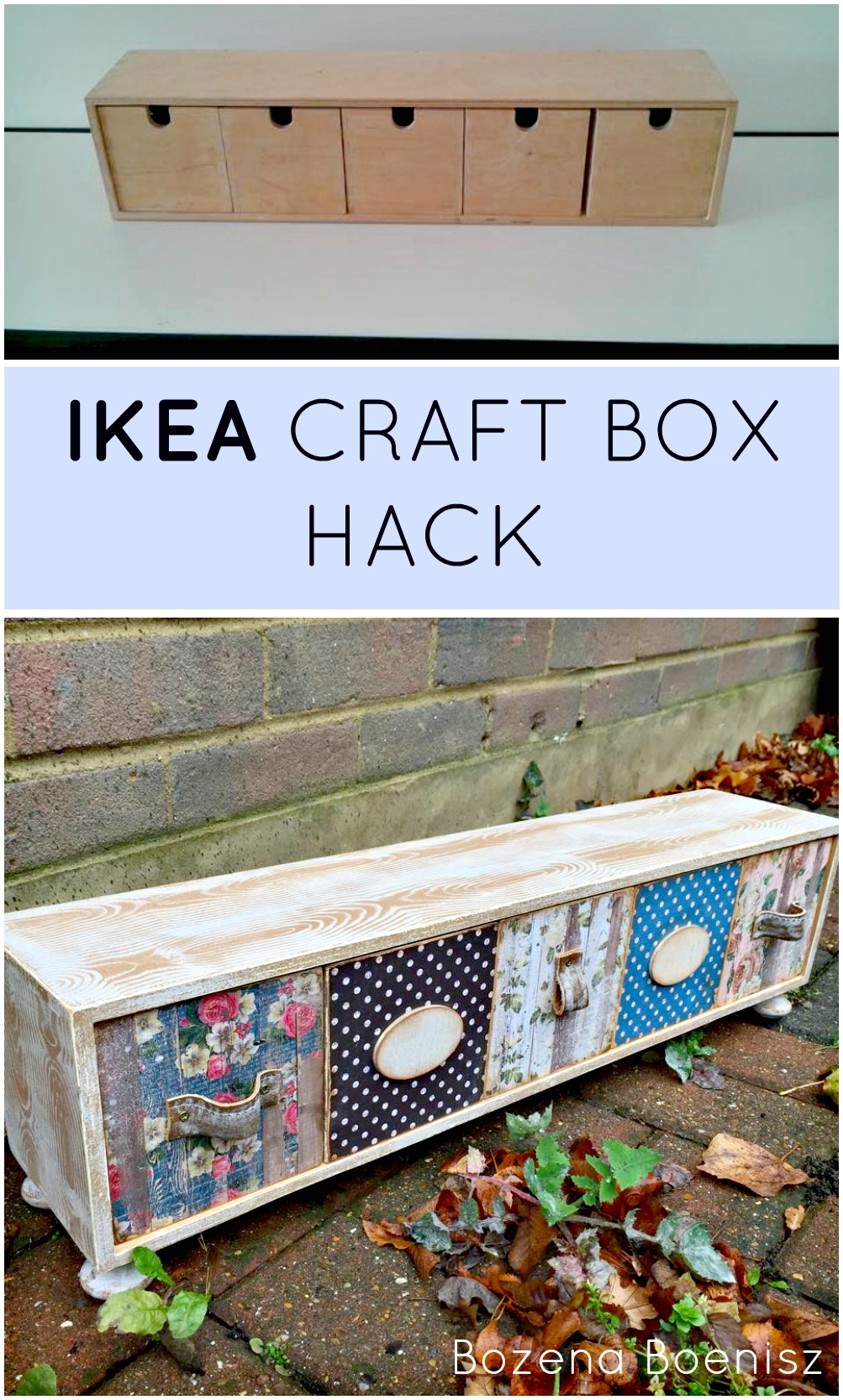 An Ikea Craft Box Hack Grillo Designs