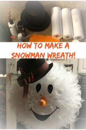deco mesh snowman wreath /Grillo Designs www.grillo-designs.com