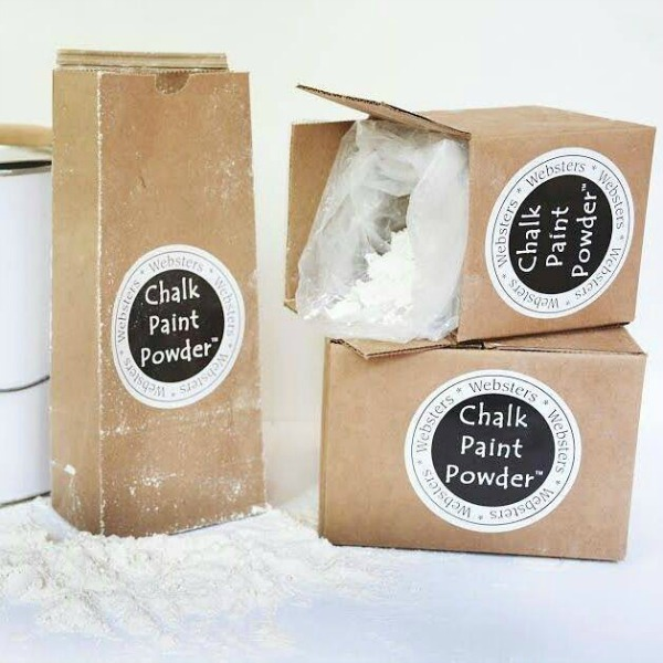 Websters Chalk Paint Powder Video