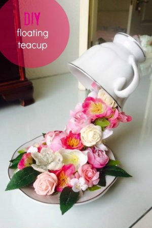 DIY FLOATING TEA CUP / WWW.GRILLO-DESIGNS.COM