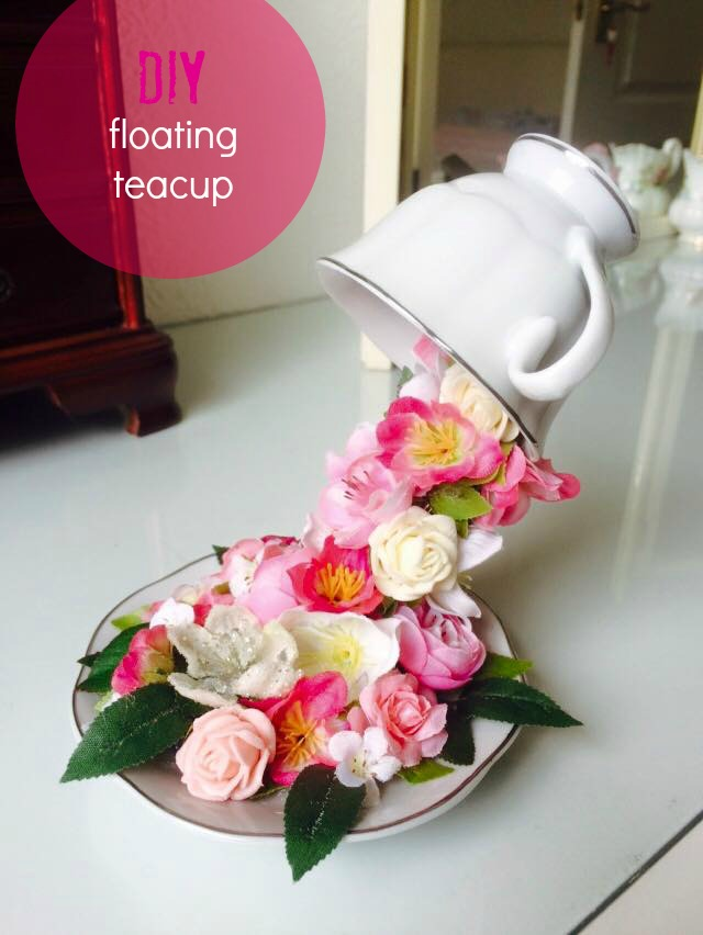 how to make a floating teacup grillo designs