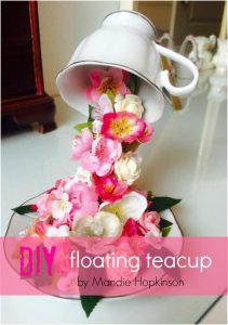 How To Make  A Floating Teacup