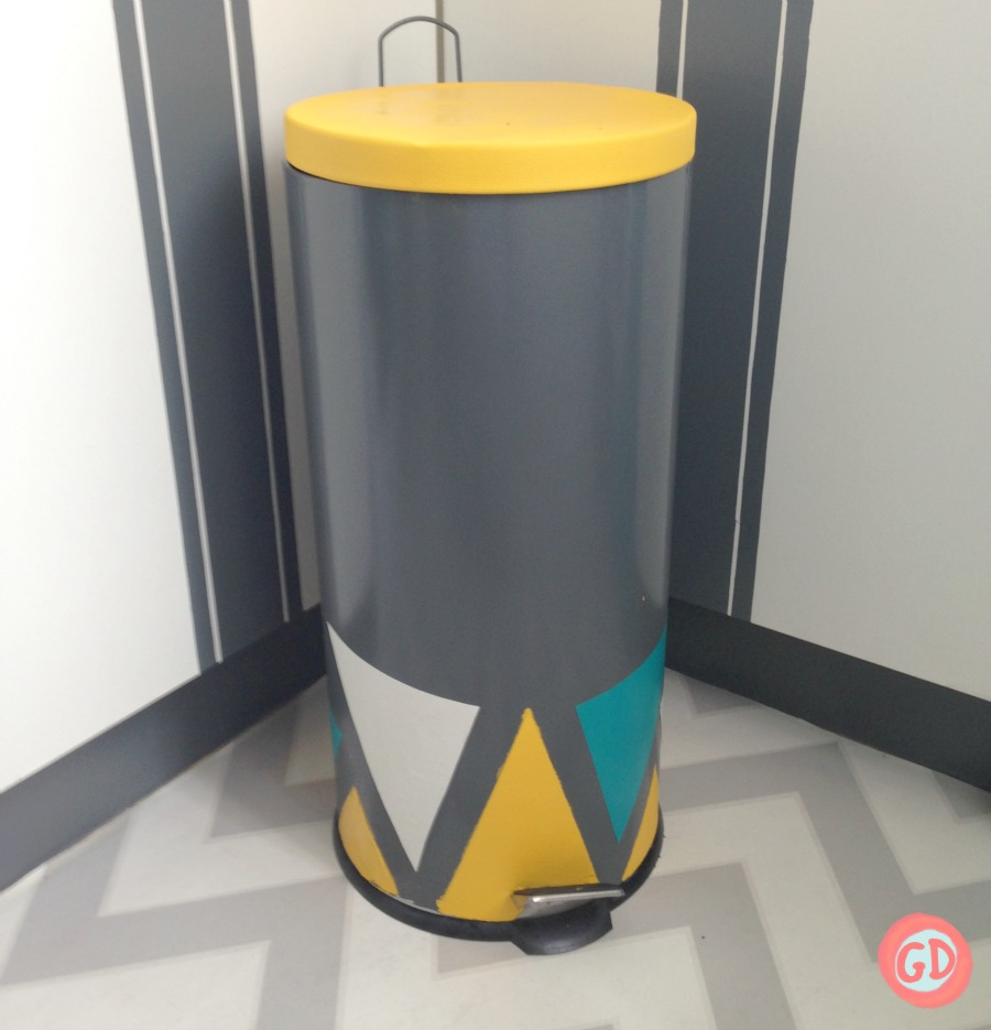 TRASH CAN MAKEOVER FEATURE