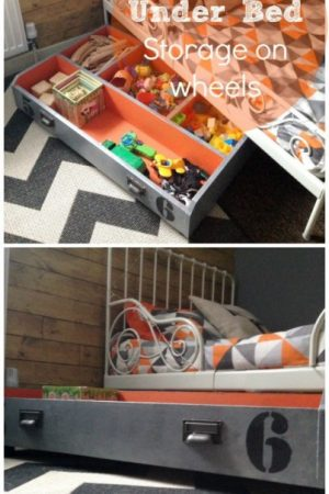 ikea pax hack - underbed toy storage idea / grillo designs www.grillo-designs.com