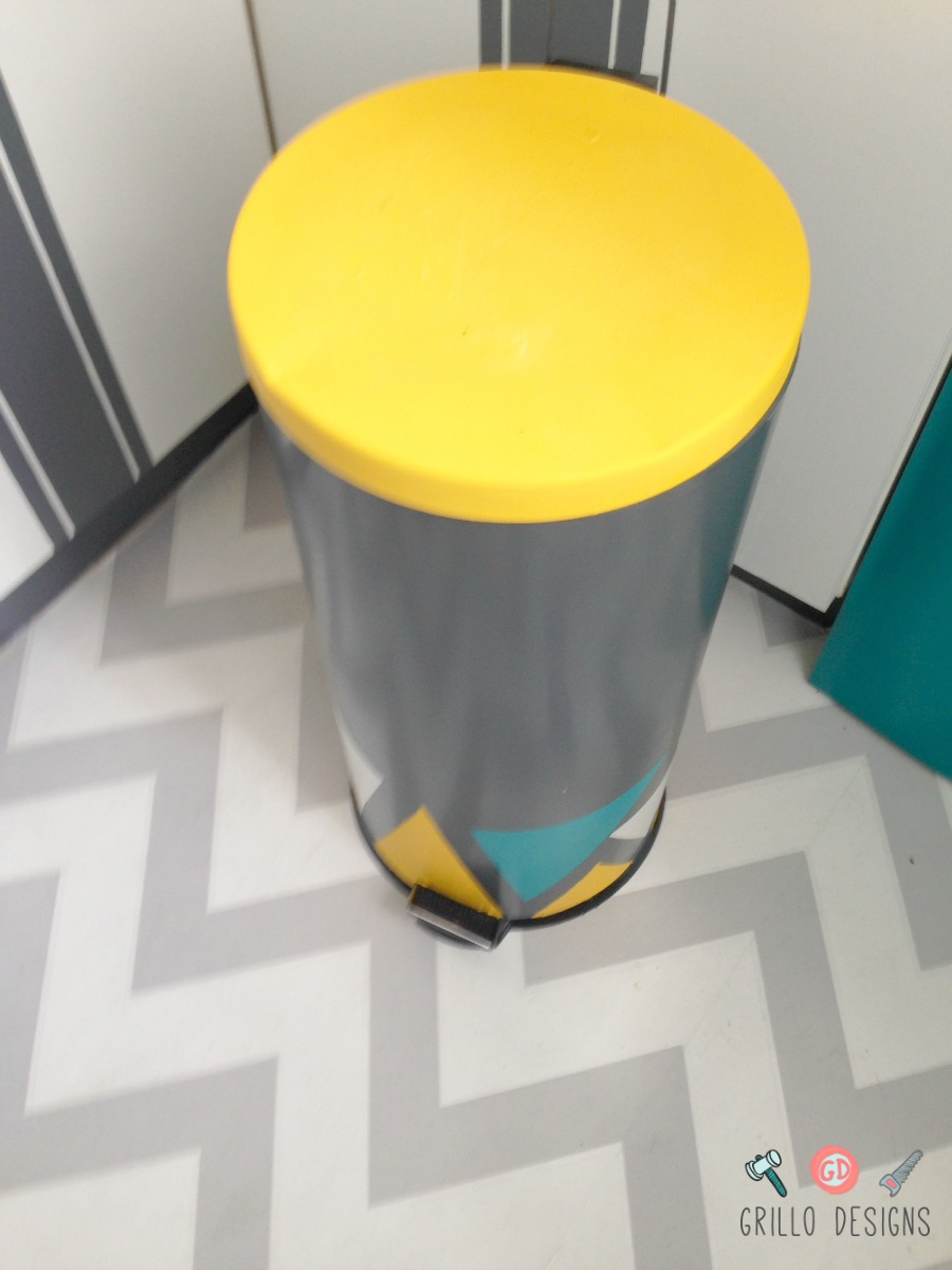 trash can makeover 6