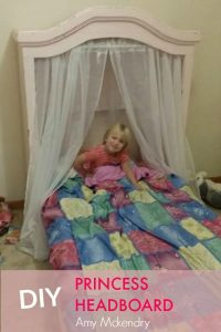 DIY PRINCESS HEADBOARD