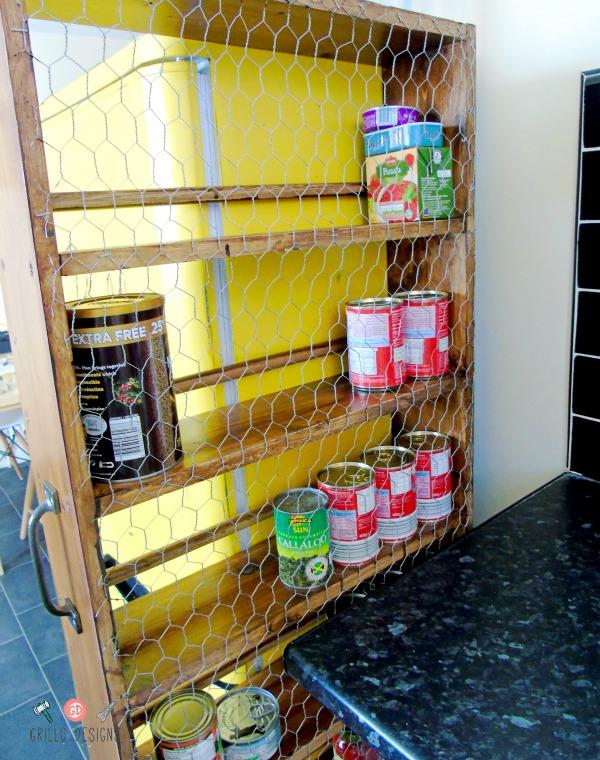 kichen roll out pantry