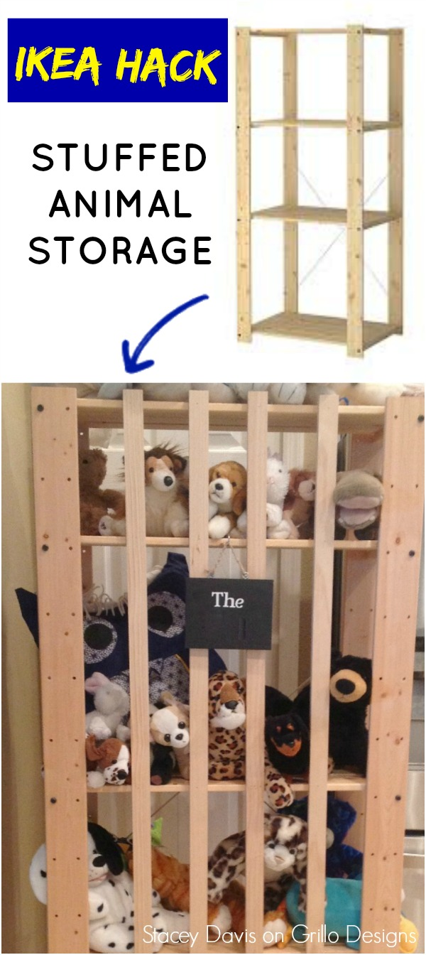 Ikea Hack Stuffed Animal Storage