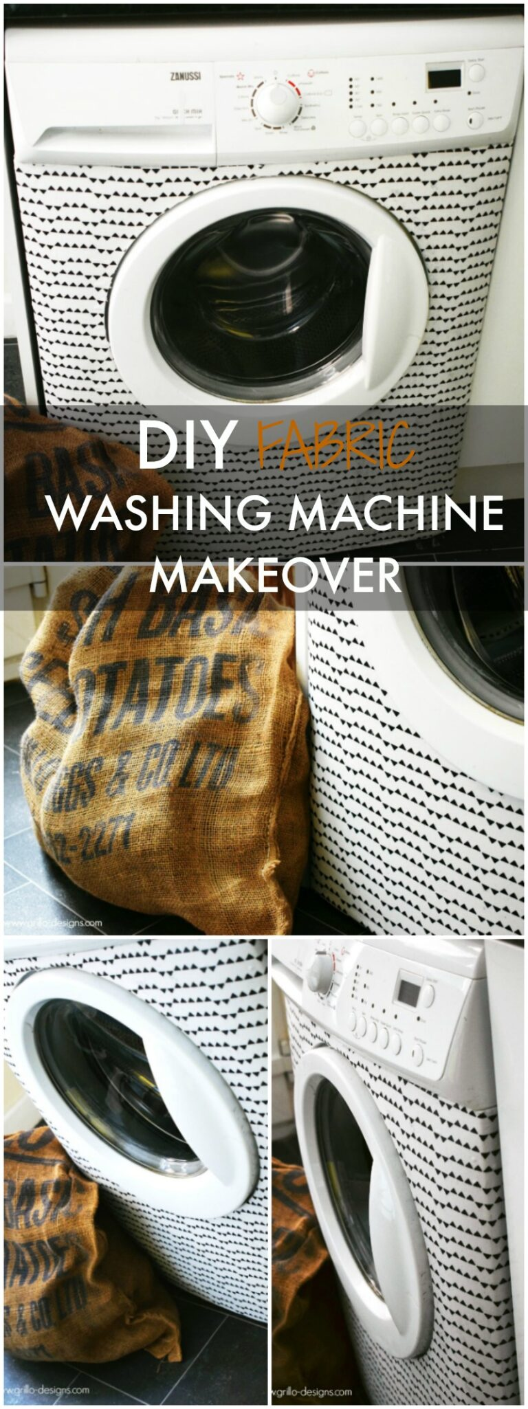 Washing machine makeover pinterest