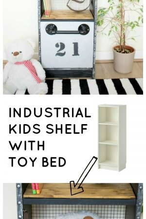 IKEA billy hack for a kid / grillo designs www.grillo-designs.com