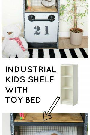 IKEA billy hack for a kid / grillo designs www.grillo-designs.com