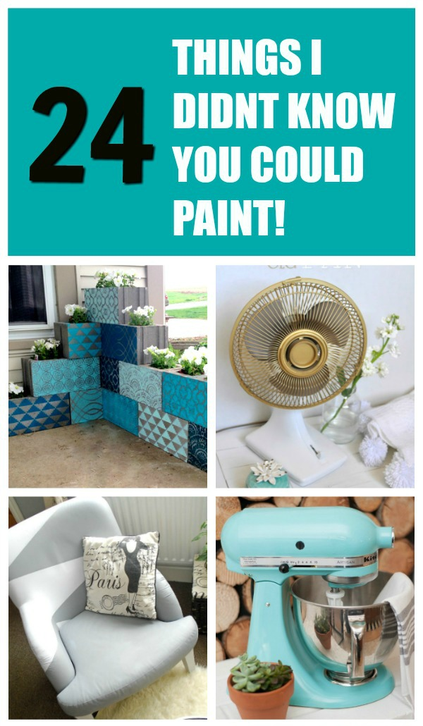 24 Things I Didn't Know You Could Paint!