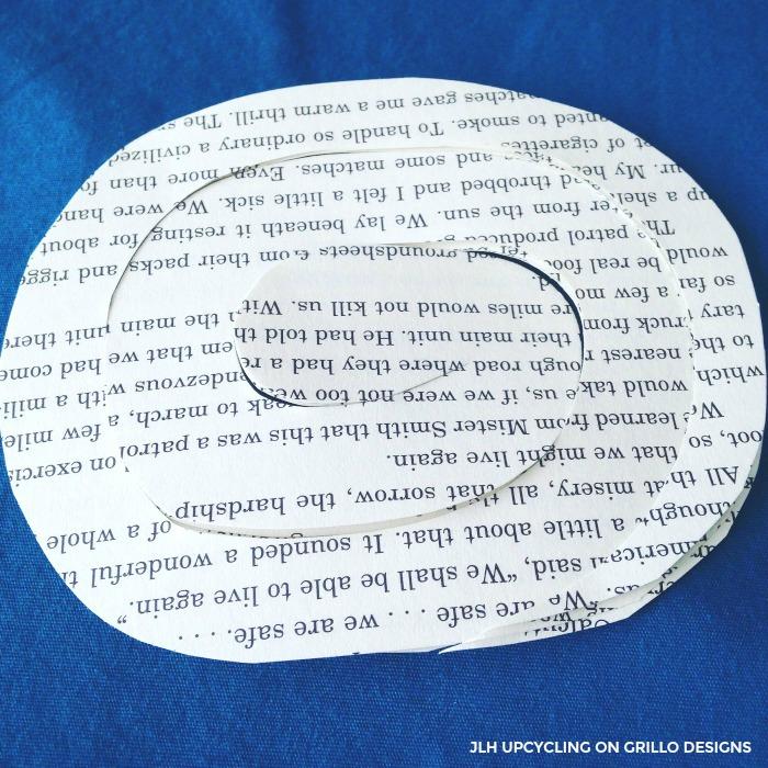 book page roses template / Grillo Designs www.grillo-designs.com