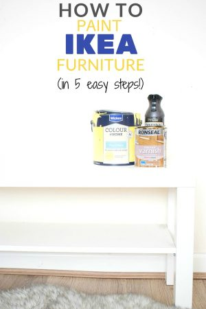 how to paint ikea furniture / Grillo Designs www.grillo-designs.com