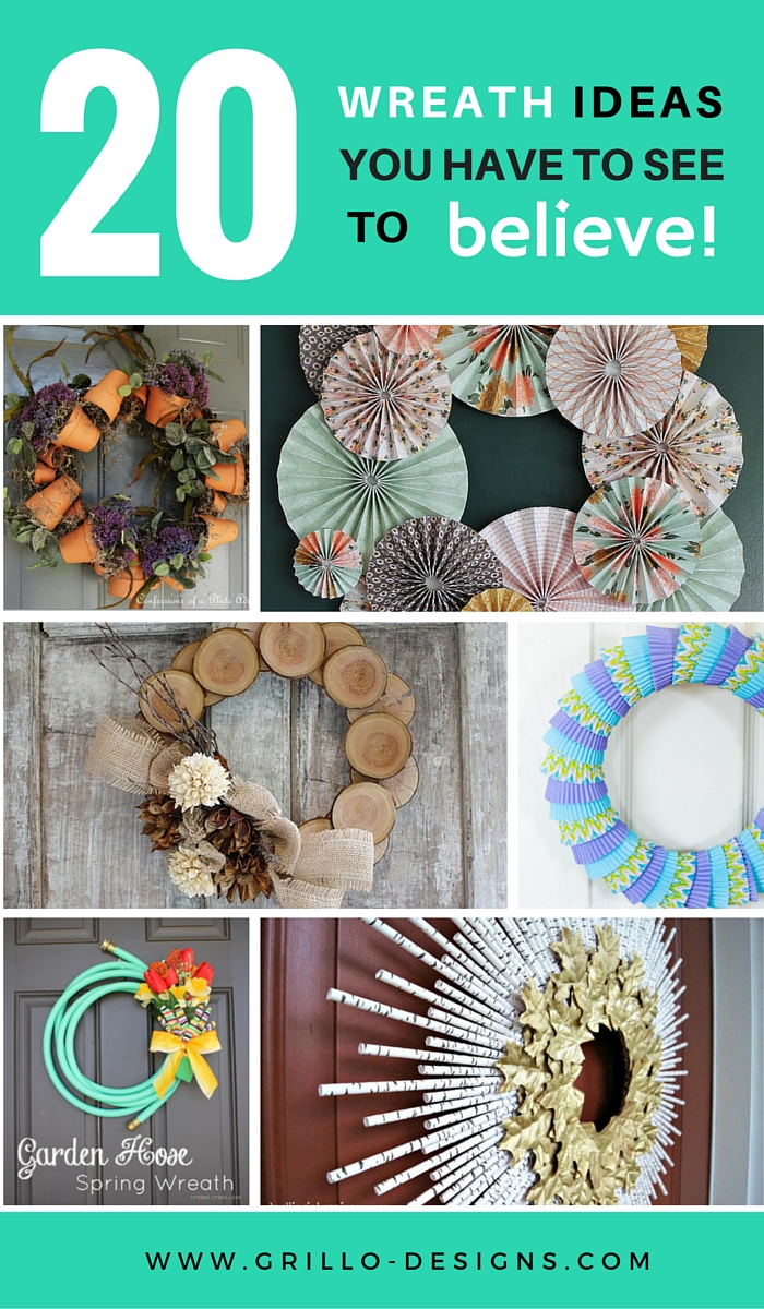 creative wreath ideas