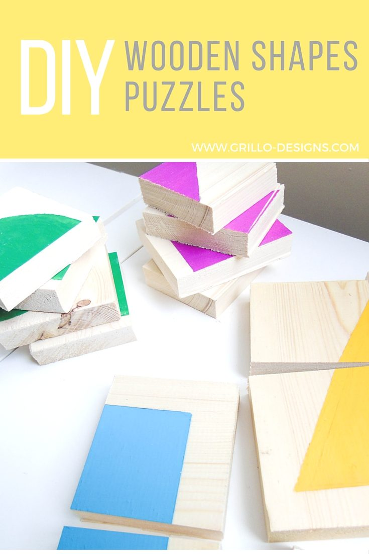 diy wooden shapes puzzles 6