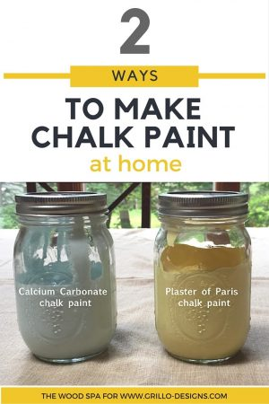 HOW TO MAKE CHALKBOARD PAINT/ grillo designs www.grillo-designs.com