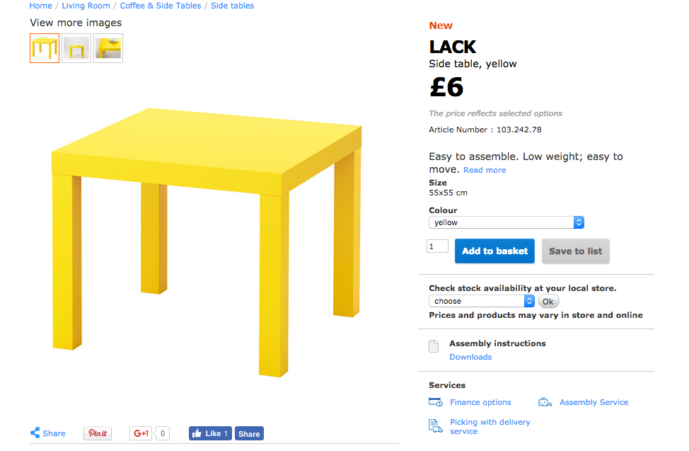 ikea lack table to play table 3