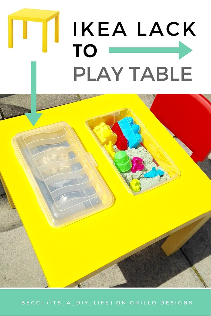 ikea lack table to play table