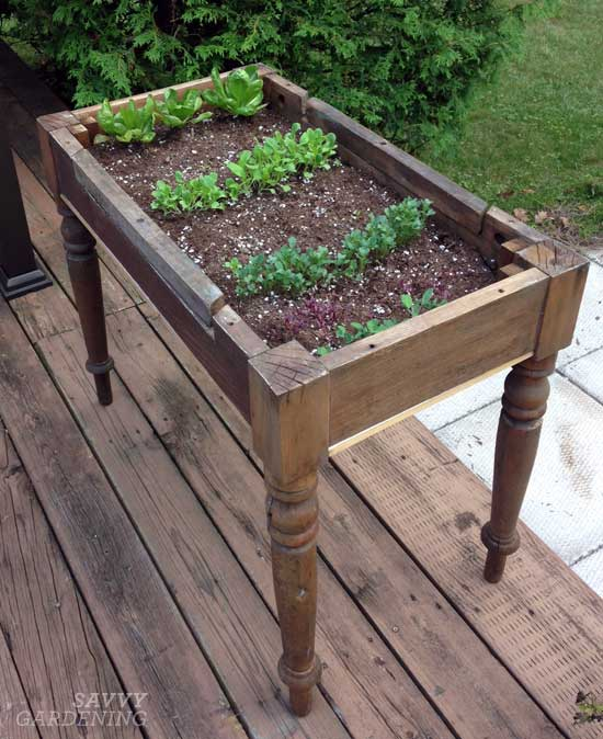 23 repurposed planter ideas for your home garden page. Black Bedroom Furniture Sets. Home Design Ideas