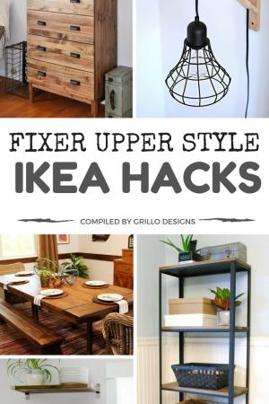 Fixer Upper Style IKEA Hacks For A Farmhouse Appeal
