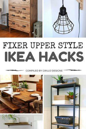 Fixer Upper Style: IKEA Hacks