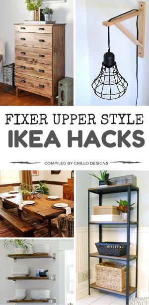 15 Fixer Upper Style IKEA Hacks