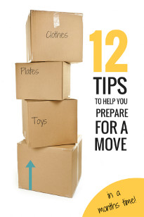 12 Moving House Tips For A Stress Free Move + FREE MOVING PRINTABLES