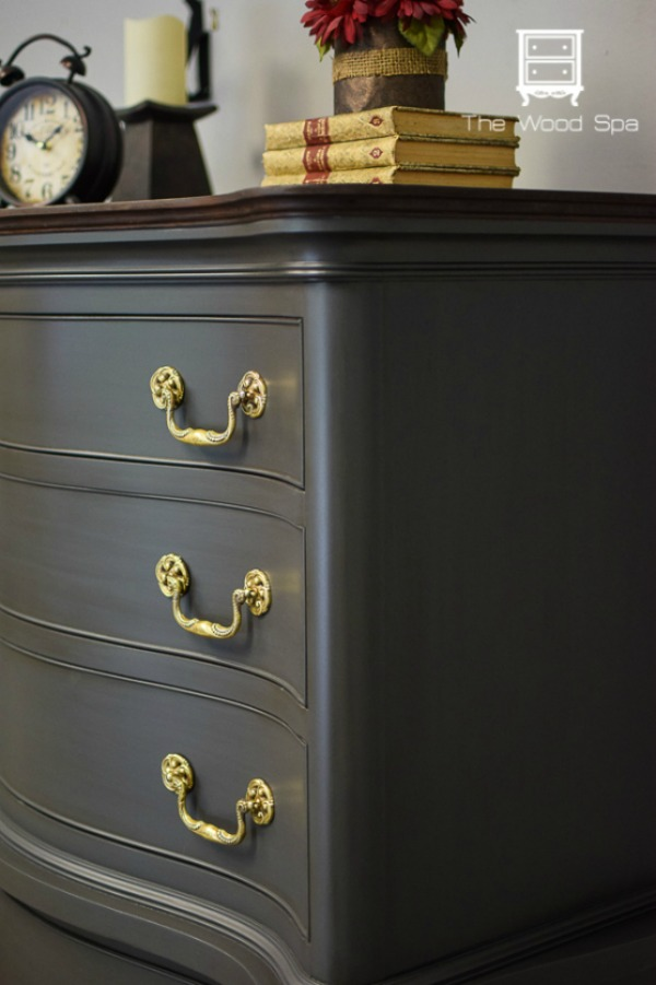 dresser makeover by The Wood Spa