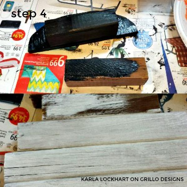 Make a wooden snowman in 7 easy steps / Grillo Designs Blog www.grillo-designs.com