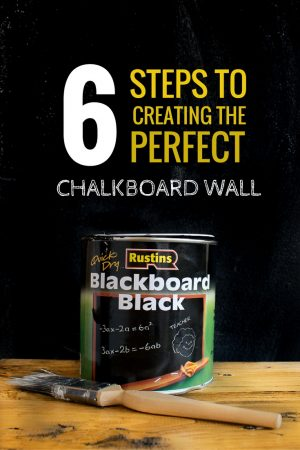 how to create a chalkboard wall / Grillo Designs www.grillo-designs.com