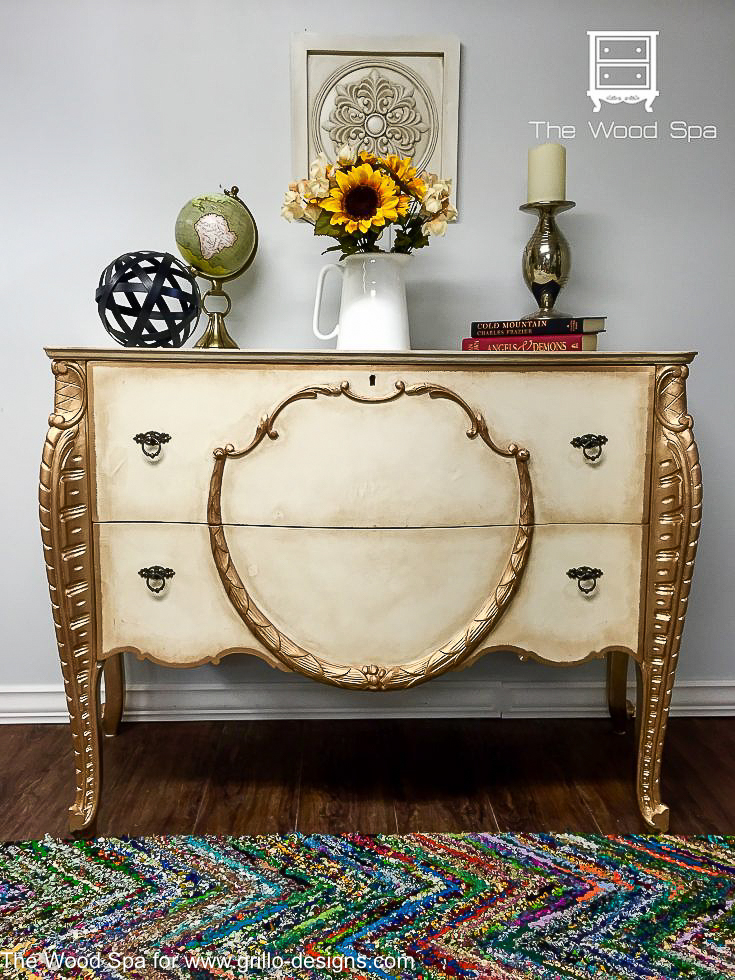 How To Use Dark Wax To Antique Furniture Grillo Designs
