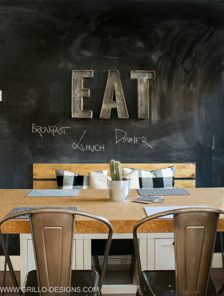 6 Steps To Creating The Perfect Chalkboard Wall