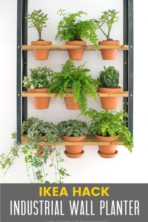 ikea hyllis hack wall planter / grillo designs www.grillo-designs.com