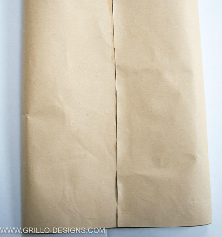 Folded over sides to make diy planter bags /grillo designs www.grillo-designs.com