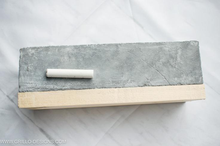 Chalky effect diy pencil holder / grillo designs www.grillo-designs.com