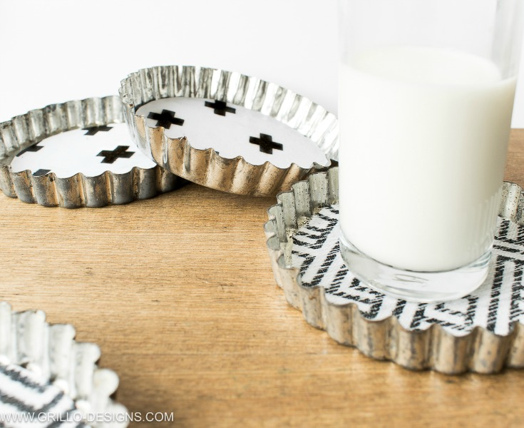 How To Make Coasters From Tart Tins – In 10 minutes!