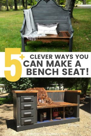 Upcycled bench ideas / grillo designs