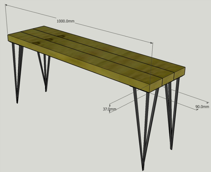 Simple bench plans that will help you to build a bench / Grillo Designs www.grillo-designs.com