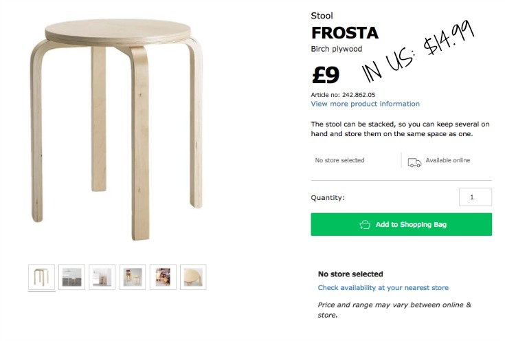 IKEA FROSTA HACK USING THE IKEA FROSTA STOOL / GRILLO DESIGNS WWW.GRILLO-DESIGNS.COM