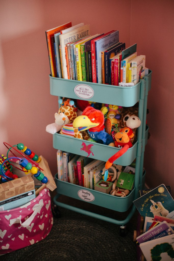 IKEA TOY STORAGE HACKS FOR KIDS - USING THE IKEA BAR CART / GRILLO DESIGNS