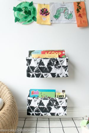 DIY Fabric Book Sling /Grillo Designs